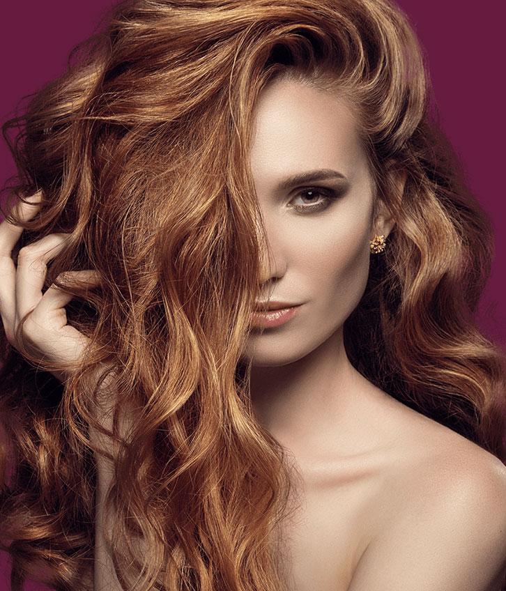 hair extensions model